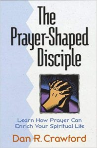The Prayer-Shaped Disciple book cover.